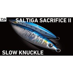 DAIWA SALTIGA SACRIFICE II SLOW KNUCKLE