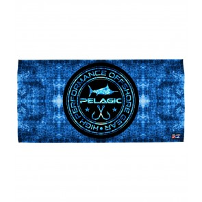 PELAGIC HEX CIRCLE LOGO BEACH TOWEL
