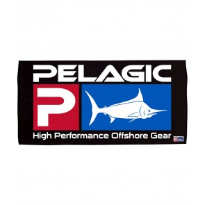 PELAGIC DELUX LOGO BEACH TOWEL