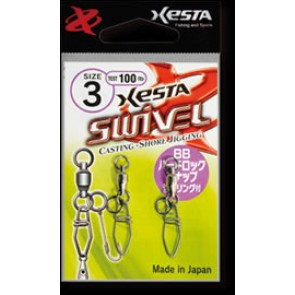 XESTA BB HARD LOCK SNAP WELDED RING